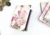 64k de la flor Libro Cuadernos de tapa dura con cobre (XLJ64128-X02)