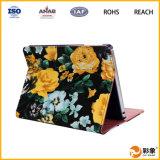 Caisse 2016 de tablette de cuir de promotion d'usine pour l'iPad