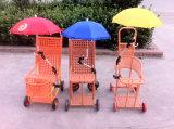 Bequemer Baby-Spaziergänger-Regenschirm für Baby-Auto, Klipp Umbrella-Sy035