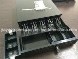 Jy-405AのPOSシステムのための黒い金属の現金ボックス