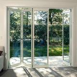 Porte Bifold en aluminium de luxe de Feelingtop pour la construction