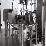 Líquido automático que pesa a máquina de empacotamento de enchimento do alimento da selagem