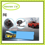 HD lleno al por mayor 4.3 cámara de la salvaguardia del coche DVR del espejo retrovisor de la pulgada