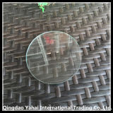 Polished Edge를 가진 4mm Round Clear Float Glass