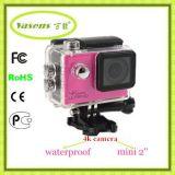Mini cámara caliente del deporte de la acción de WiFi 4k con HD lleno 1080P 60fps
