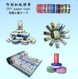 Decoración de la cinta de papel Washi del cordón Estampado