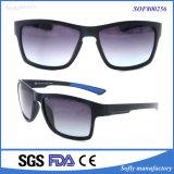 Soem kundenspezifische quadratischer Rahmen-Spiegel polarisierte Frauen-Sonnenbrillen
