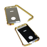 2016의 최신 제품 (황금) 지능적인 전화 iPhone를 위한 호화스러운 작풍 이동 전화 상자 덮개