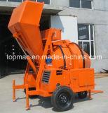 Diesel Concrete Mixer met Mechanische Vultrechter voor het Project van de Bouw van Afrika