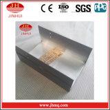 Schwarze PVDF Beschichtung-Aluminiumzwischenwand-Hersteller (JH180)