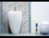 Самомоднейший просто тип, украшение стены, серебряная яркая стеклянная мозаика (G655013)