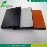 El panel superficial del compacto HPL del color sólido de la textura en buena calidad