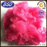 Farbige Polyester-Spinnfaser PSF für spinnende Garne