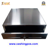 Tout tiroir en argent en série en acier inoxydable pour périphériques de point de vente