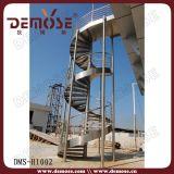 De Wenteltrap van het roestvrij staal Openlucht (dms-H1002)