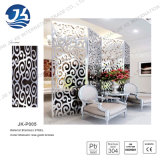 201 304 316 Home Hotel Room Office Color Laser Cutting Decoração Stainless Steel Screen