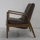 Nodicデザイン居間の家具の高品質の木のソファーの椅子