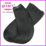 卸し売り倍によって引かれる非常に厚い高品質の人間のBrazillianのまっすぐな人間の毛髪の織り方