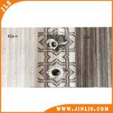 Azulejo de cerámica esmaltado diseño moderno de la pared del papel pintado del material de construcción 300*600