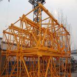 Qtz80 (5513) 160m toplesser Turmkran für Aufbau