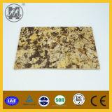Laje de mármore artificial fina grande 1220*2440mm da decoração da parede