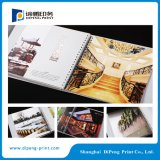 Wire-O-Bindung Hard Cover Katalog-Druck (DP-C001)
