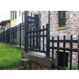 Projeto novo & cerca de alumínio decorativa do estilo, cerca de trilhos de alumínio para o jardim e HOME