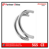 Manija moderna del tirón del acero inoxidable 304 para la puerta de cristal (01-139)