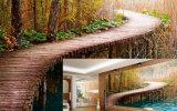 Papéis de parede Textured solventes de Eco