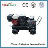 generador portable de la energía eléctrica de la soldadura de la gasolina 5kVA/de la gasolina con el compresor de aire