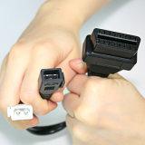VAG 2+2 câblent 16 le câble diagnostique de connecteur femelle d'adaptateur de Pin Kkl OBD2 pour VW Audi 2 x 2