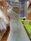 Die Frauen-Textzeile Hochzeits-Kleid Uw4023 markieren