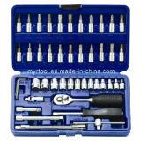 46PCS del zócalo profesional fijado en caja de soplado (FY1046B1)