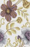 Mosaico de pintura del vidrio cristalino de la flor del papel de empapelar (PT009)