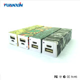 De nieuwe Plastic Li-IonenBank van de Macht van de Douane van de Batterij 2200mAh Draagbare