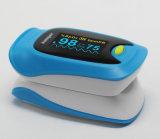 Oxímetro do pulso da ponta do dedo de OLED Digitas com parâmetro SpO2