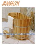 Bañera de madera de la manera de la manera Bañera de madera de la alta calidad