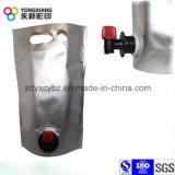 Saft-Kunststoffgehäuse-Beutel im Kasten