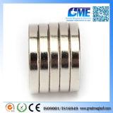 Ímãs escareados de N50 D20X3X5mm anel redondo forte