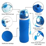 УПРАВЛЕНИЕ ПО САНИТАРНОМУ НАДЗОРУ ЗА КАЧЕСТВОМ ПИЩЕВЫХ ПРОДУКТОВ И МЕДИКАМЕНТОВ одобрило, силикона доказательства утечки силикона доказательства утечки BPA бутылка для спорта, напольная, перемещение спортов свободно складного складная складная, ся, пикник