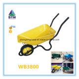 Wheelbarrow de Wb2206cheap com uma roda