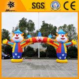 Kundenspezifischer aufblasbarer Zirkus-Clown-Bogen (BMAC12)
