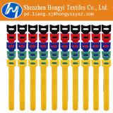 Fascette ferma-cavo riutilizzabili multicolori del Velcro del nastro del ciclo & dell'amo