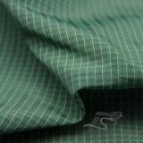 вода 40d 300t & Ветр-Упорной способа куртки ткань 100% нити Мор-Острова полиэфира жаккарда шотландки вниз сплетенная курткой (X045)