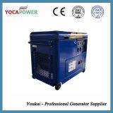 генератор малой силы двигателя дизеля 5kw электрический портативный с тепловозным производя производством электроэнергии 4-Stroke