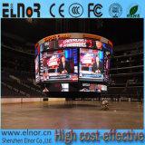 Indicador de diodo emissor de luz interno elevado do estádio da cor cheia do pixel P4