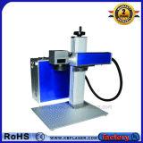 Jpt 강철 꼭지를 위한 파란 20W 휴대용 섬유 Laser 표하기 기계