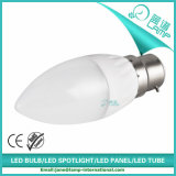 Luz da vela do diodo emissor de luz da listra B22 5W da venda