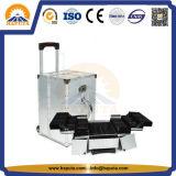Cassa di treno di alluminio di vanità di trucco per il salone (HB-1311)