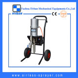 Alta calidad neumático sin aire Pintor de acero Pulverización